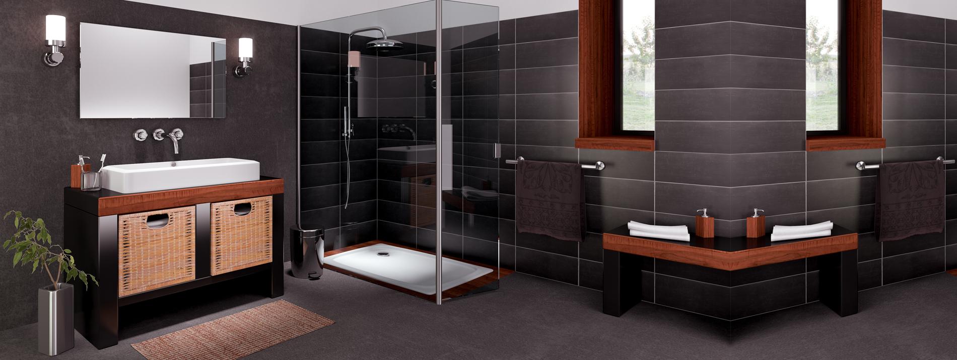 Radiateur Salle De Bain Mixte ~ r novation de salle de bain pose de carrelage rev tement b ton